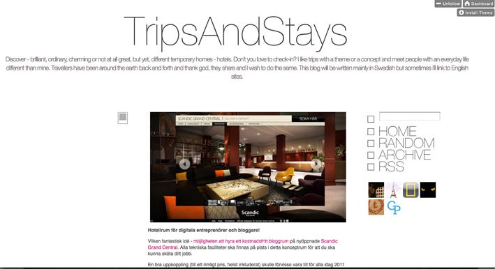 TripsAndStays på Tumblr