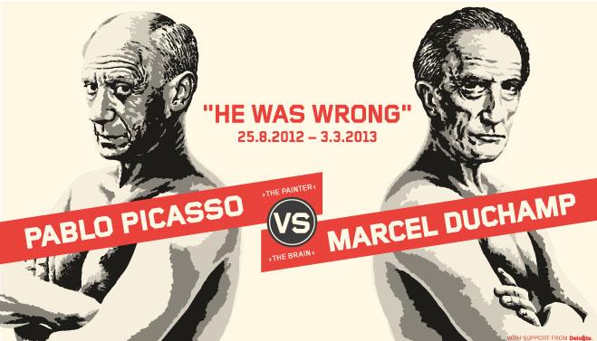 Duchamp VS Picasso