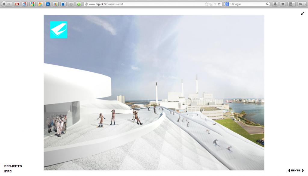 Bjarke Ingels Group skärmdump från big.dk