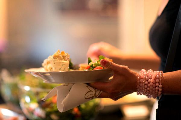 Buffévalet föll på Carotte catering. Foto: Jonas Adner