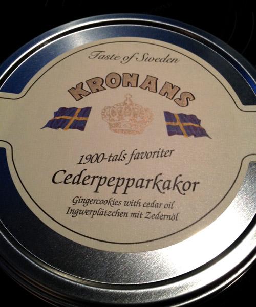 Kronans cederpepparkakor