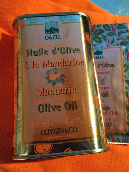 Mandarinolivolja
