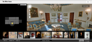 Tour White House, via Google Cultural Institute