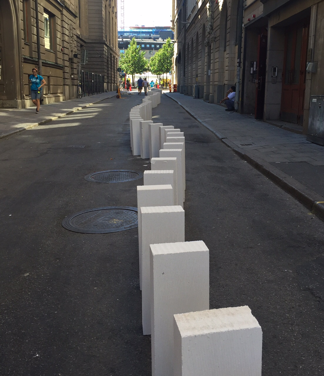 Dominoe i Stockholm